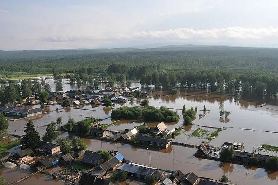 Заставка для - Срочный сбор для пострадавших в зоне подтопления в Иркутской области